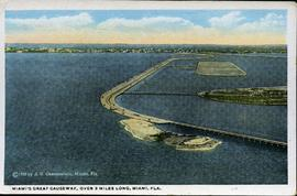 Miami's Great Causeway 1920