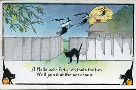 Halloween Party Post Card