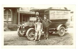 Rock Island Bakery Delivery Truck and Drivers