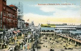 Boardwalk at Richard's Baths Atlantic City NJ
