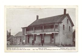 Beebe Vt. & Beebe Quebec Post Office